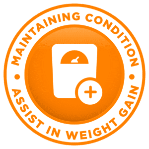 Maintaining Condition, Assist in Weight Gain